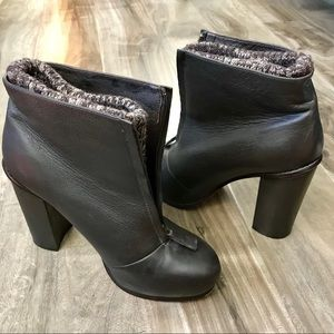 Dolce Vita winter boot heels